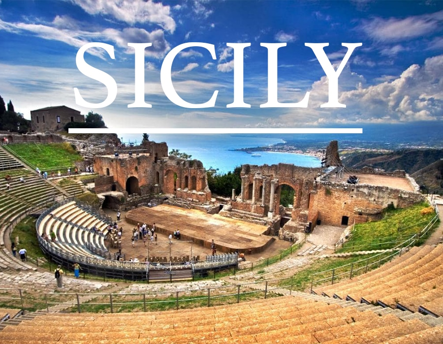 THE ISLAND OF SICILY